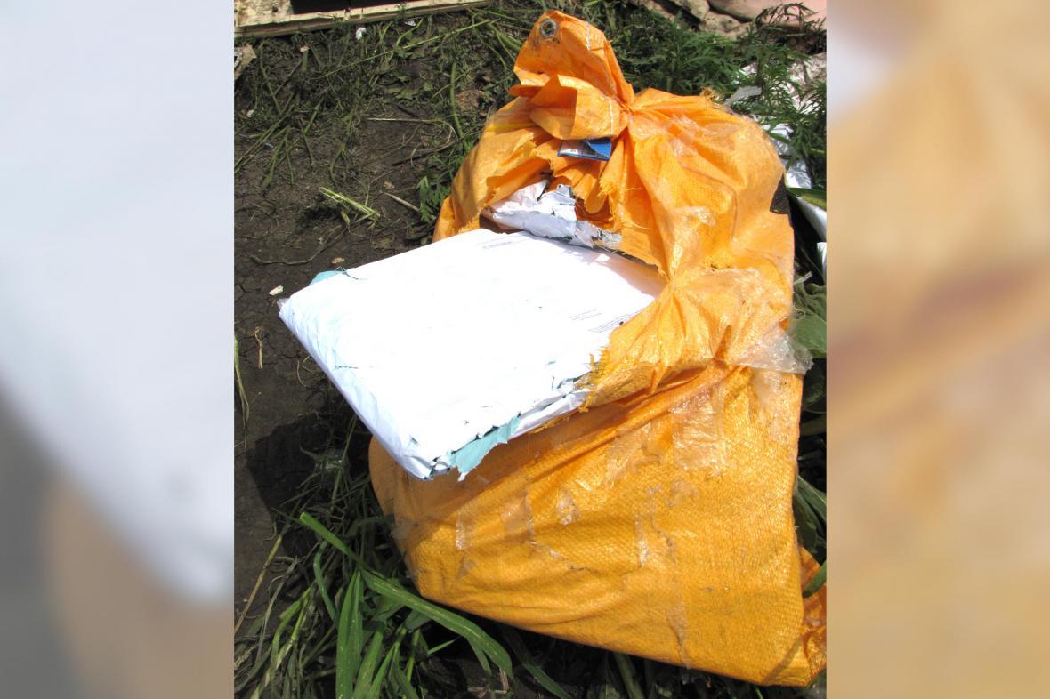 Pytel s poštou, která zůstane nedoručena