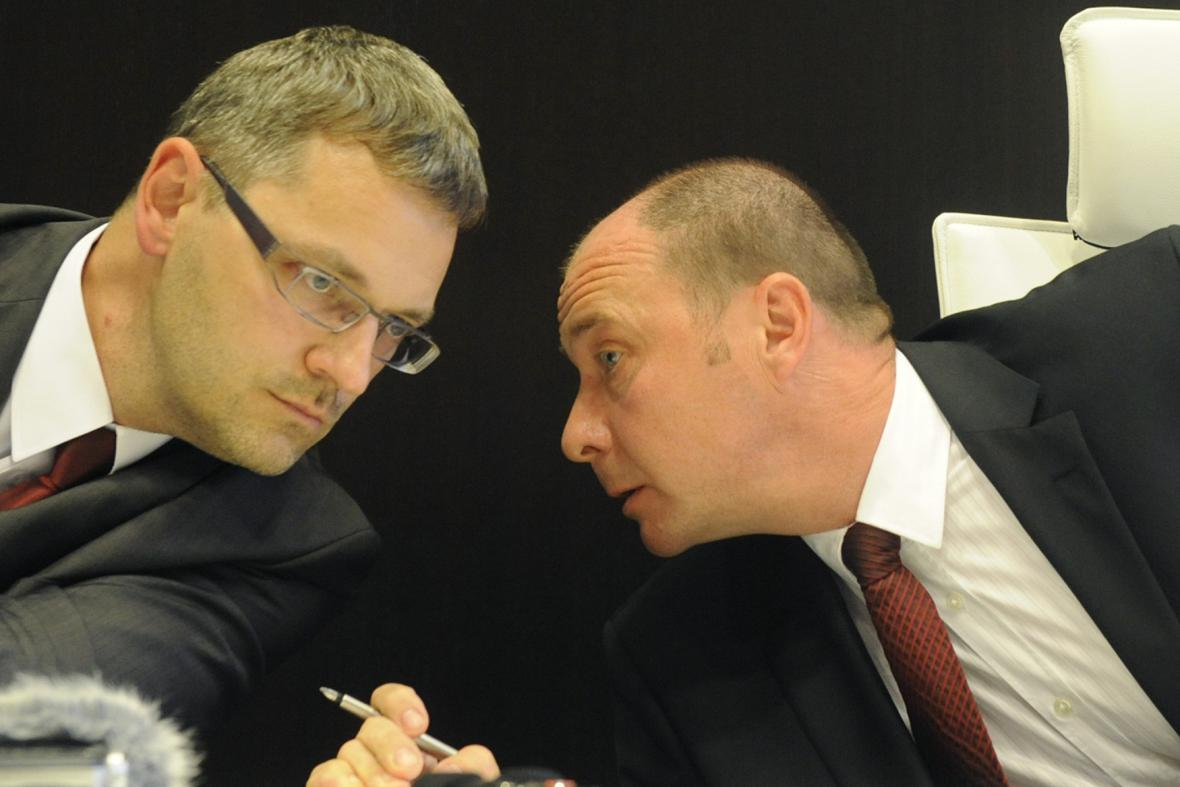 Vlastimil Rampula a Libor Grygárek