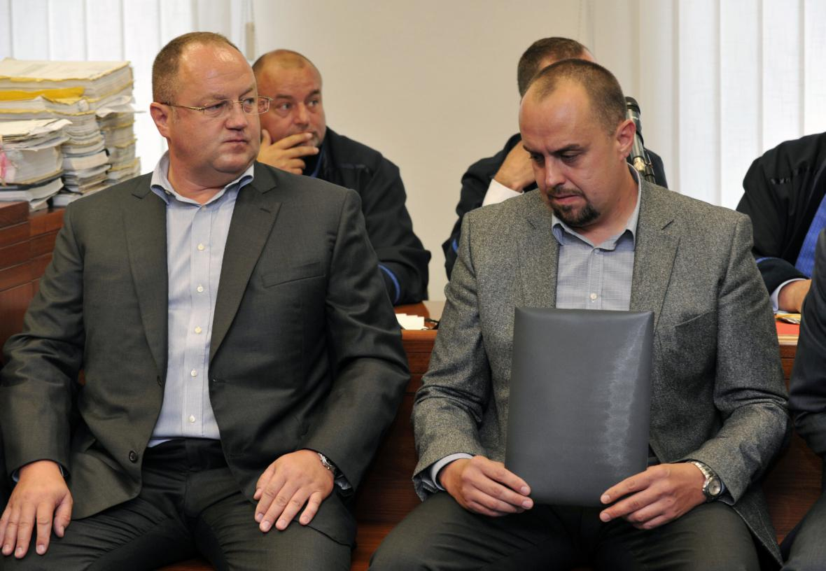 Obžalovaní Vít Zaorálek a Martin Zaorálek
