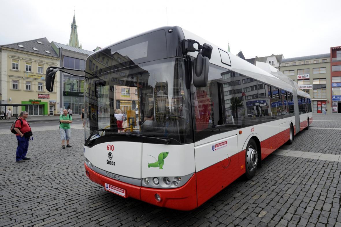 Nové trolejbusy v Ústí nad Labem