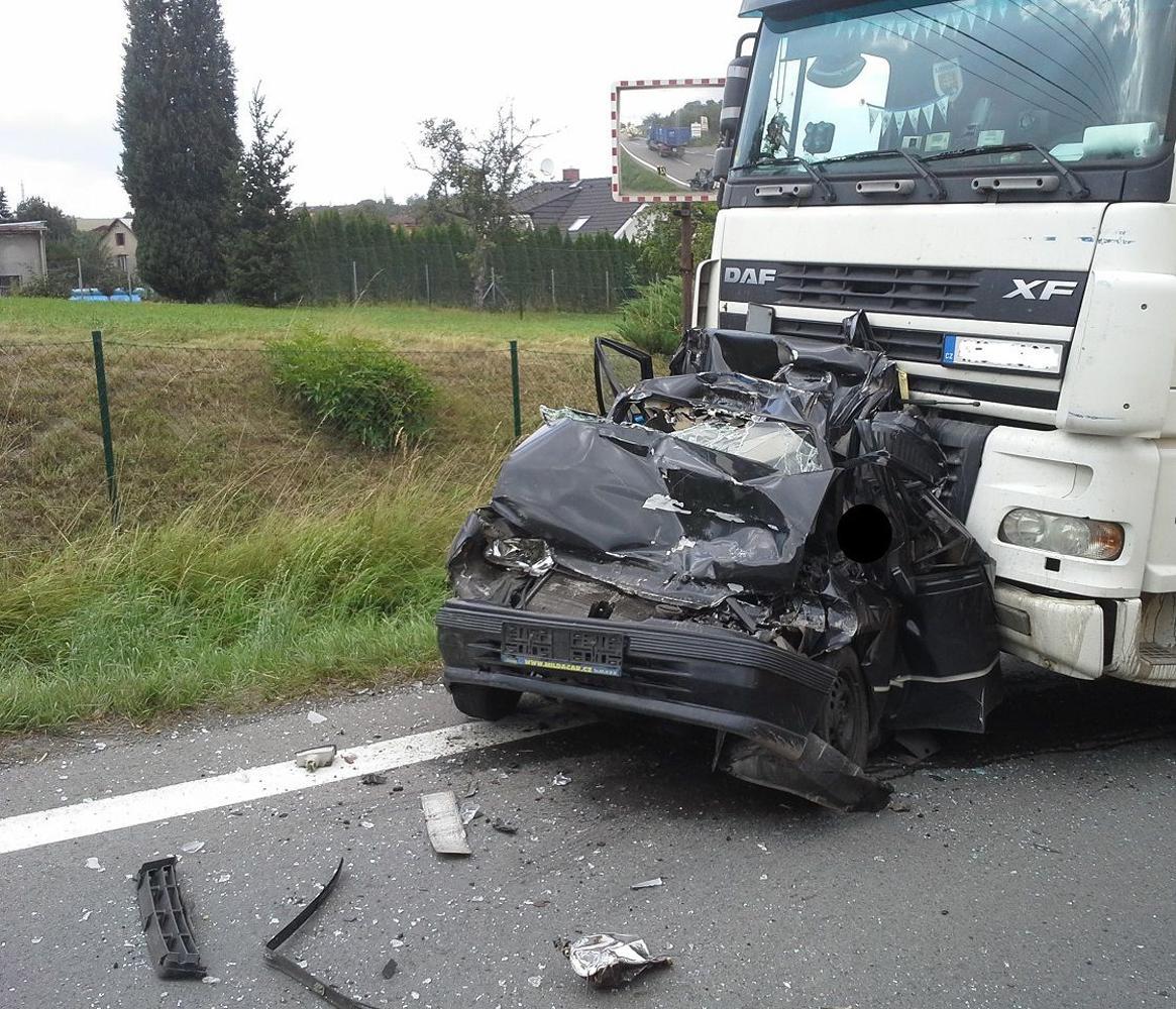 Dopravní nehoda v Klimkovicích