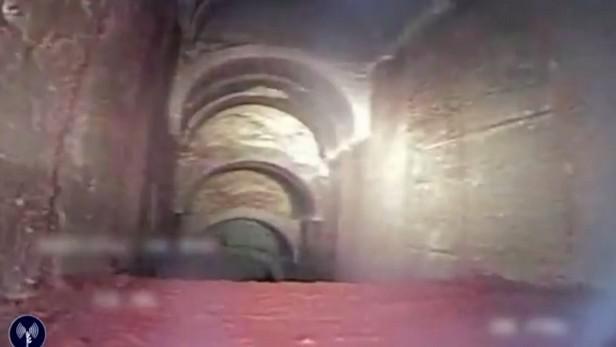 Tunel vedoucí do Izraele