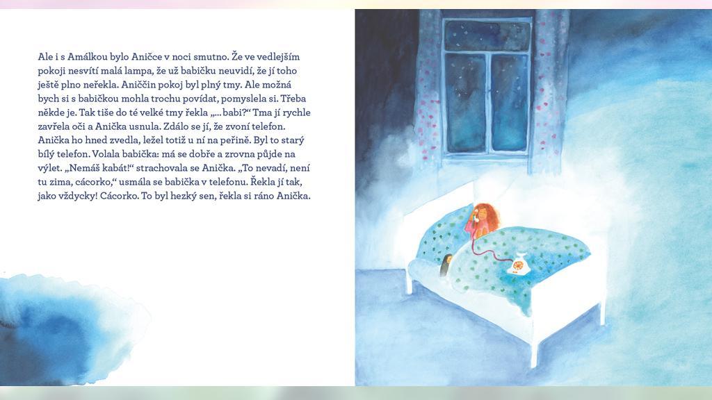 Ukázka knihy Anna a Anička