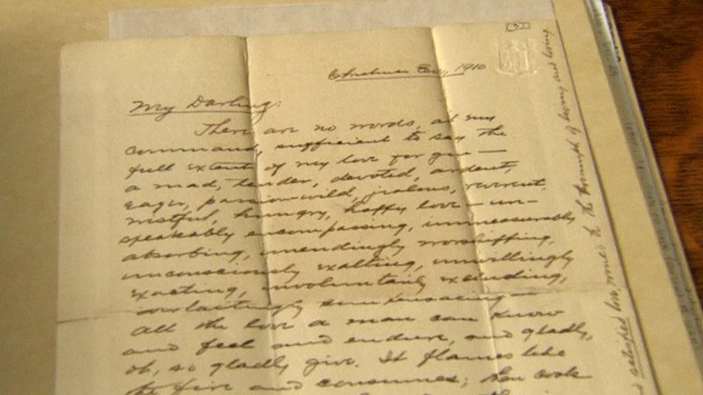 Hardingovy dopisy překvapují hlavně mírou intimností