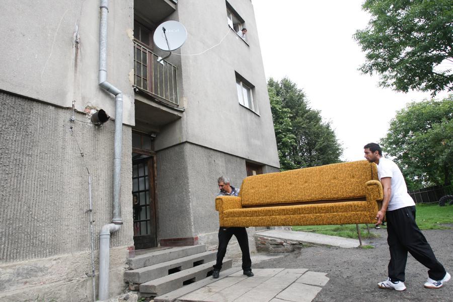 Ubytovna pro sociální případy na ulici TGM ve Varnsdorfu