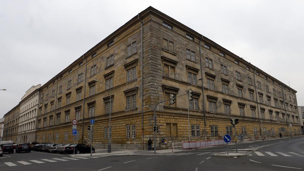 Kasárna Jana Žižky v pražském Karlíně