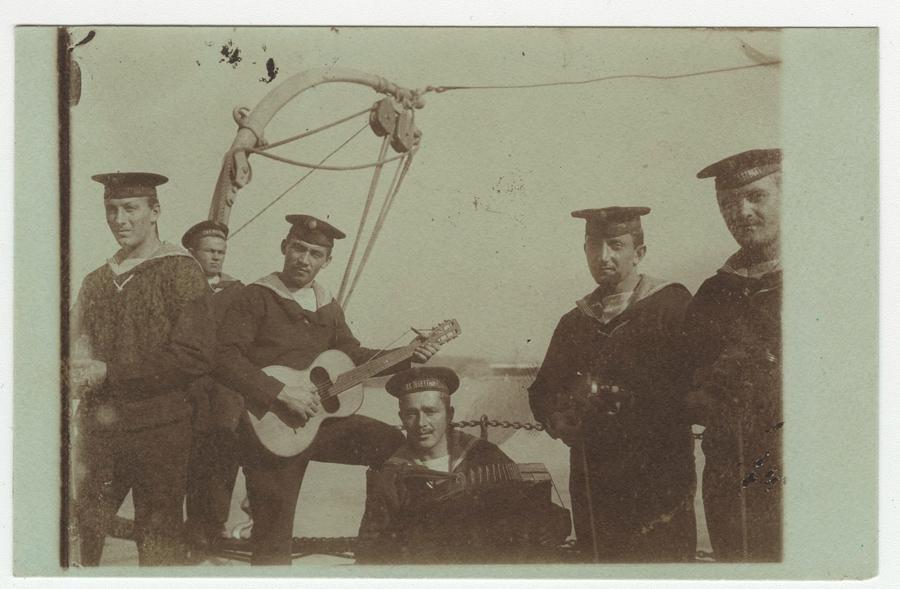 Čeští muzikanti v řadách císařských námořníků
