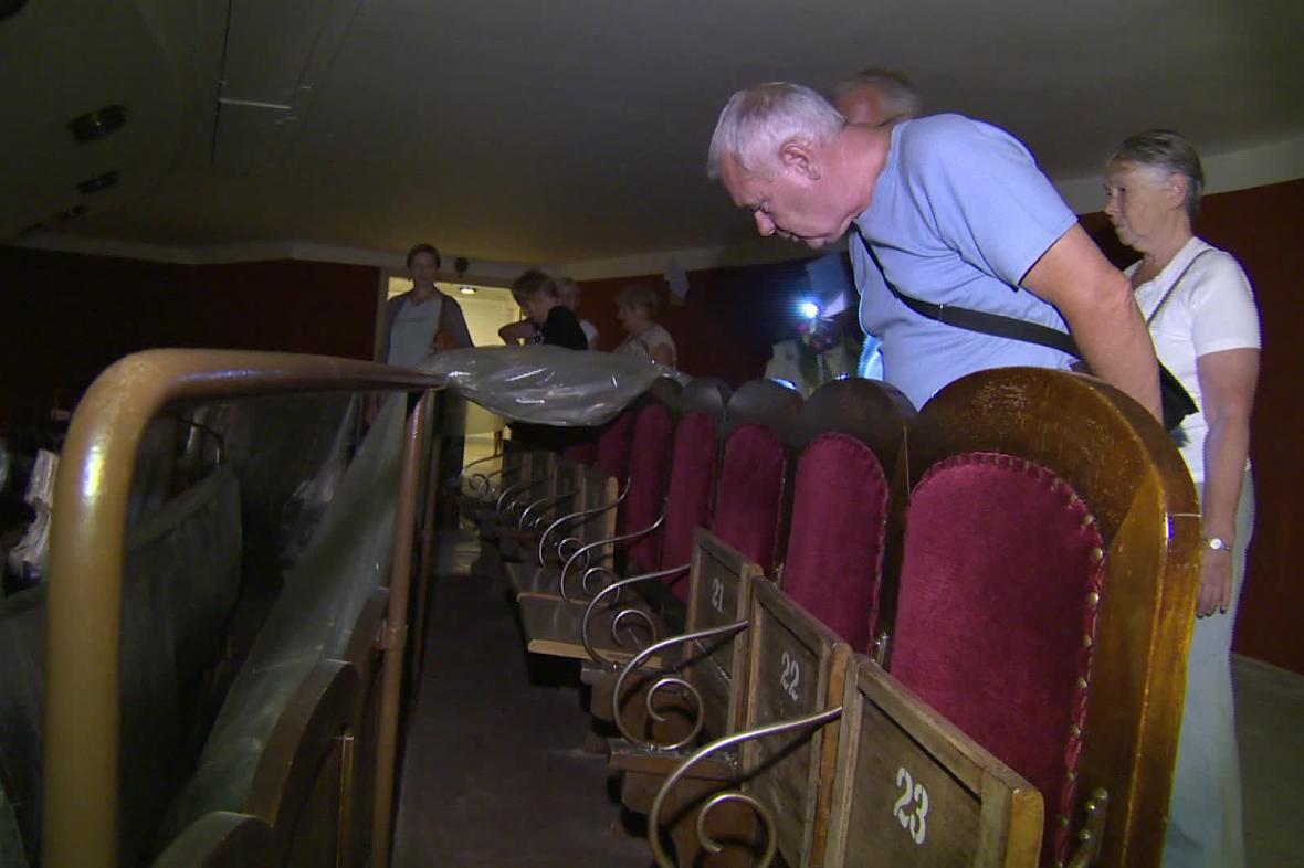 Letní prohlídka Mahenova divadla
