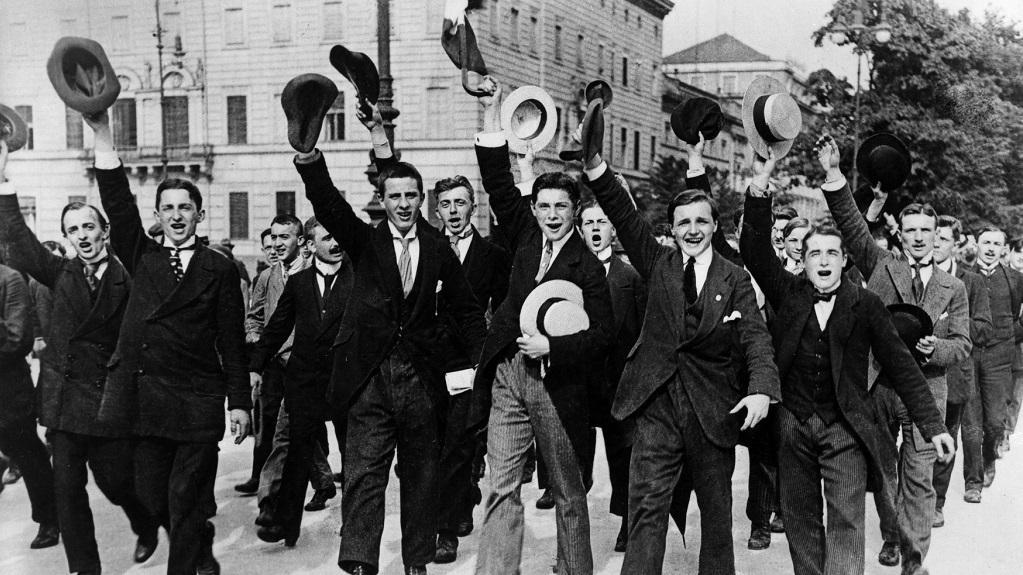 Němečtí branci v Berlíně