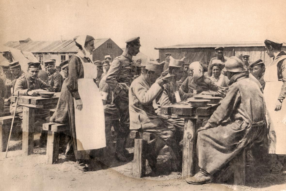 Ošetřovatelka na západní frontě