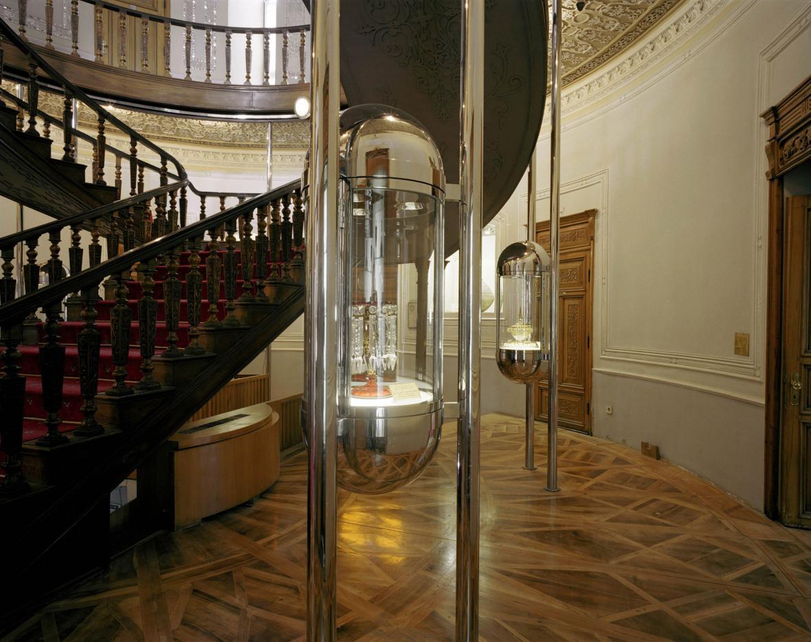 Museum für Glas und Keramik, Teherán / Hans Hollein