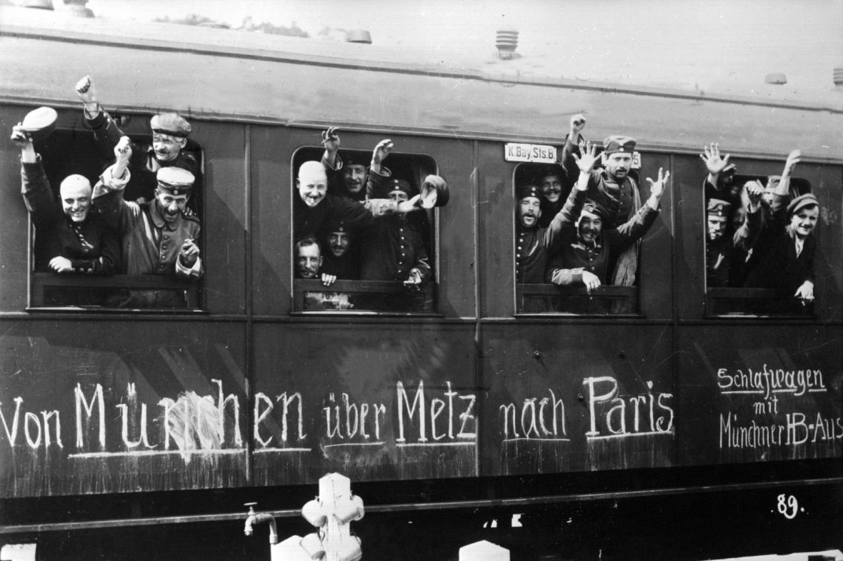 1. světová válka: Mobilizace v Německu