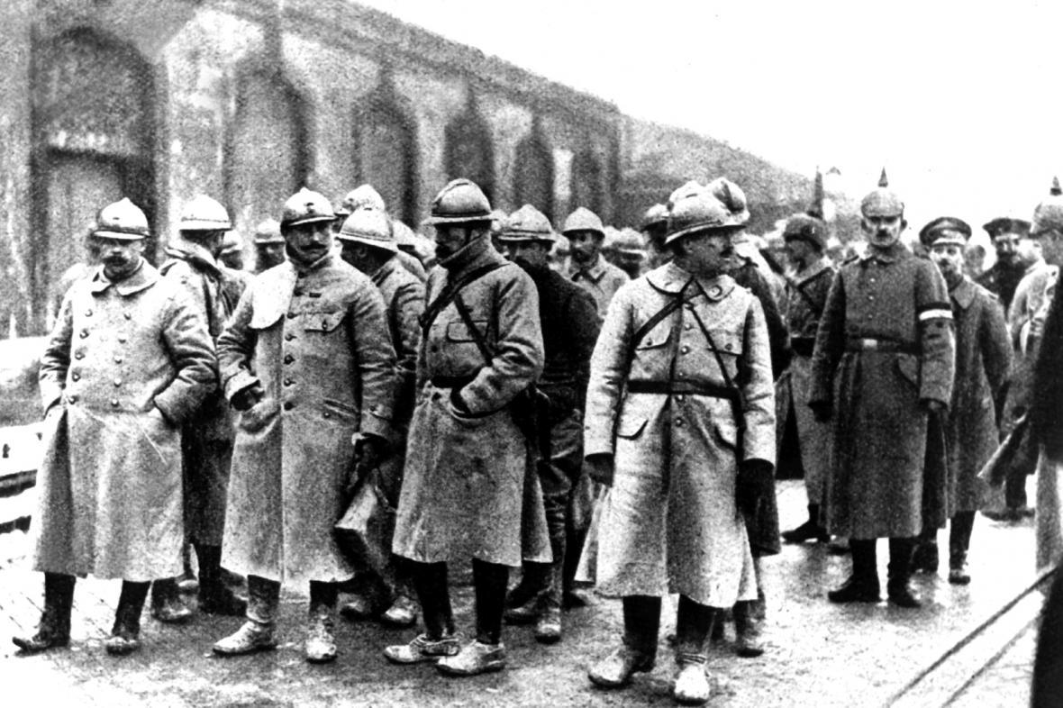 1. světová válka: Francouzští důstojníci coby zajatci