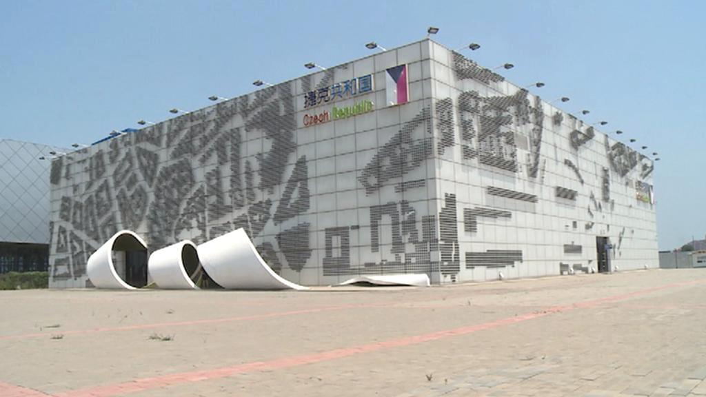 Český pavilon z Expa v Šanghaji se přestěhoval do Čung-ťie