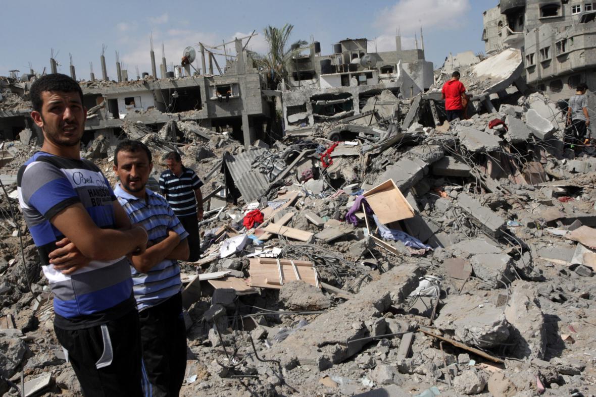 Obyvatelé Pásma Gazy