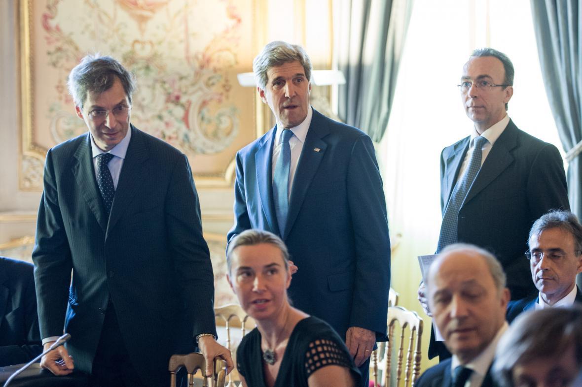 Jednání ministrů zahraničí o izraelsko-palestinském konfliktu
