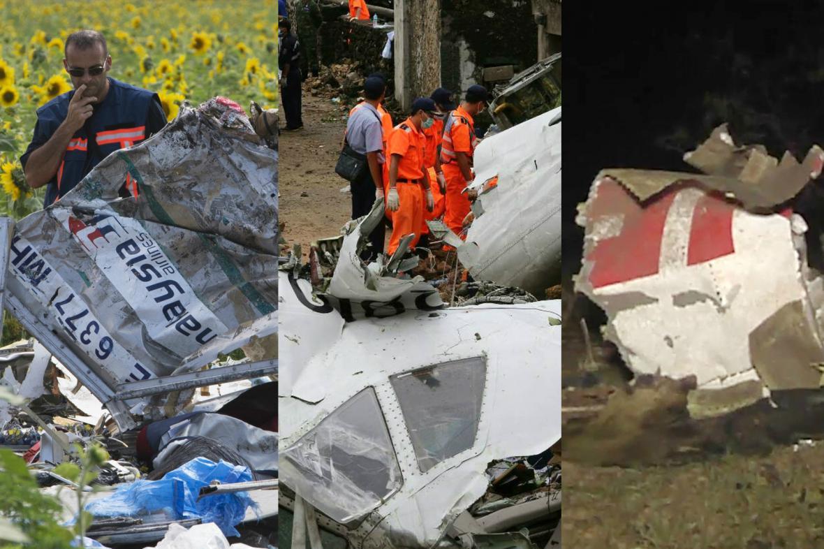Tři pády letadel za poslední týden – Ukrajina, Tchaj-wan a Mali