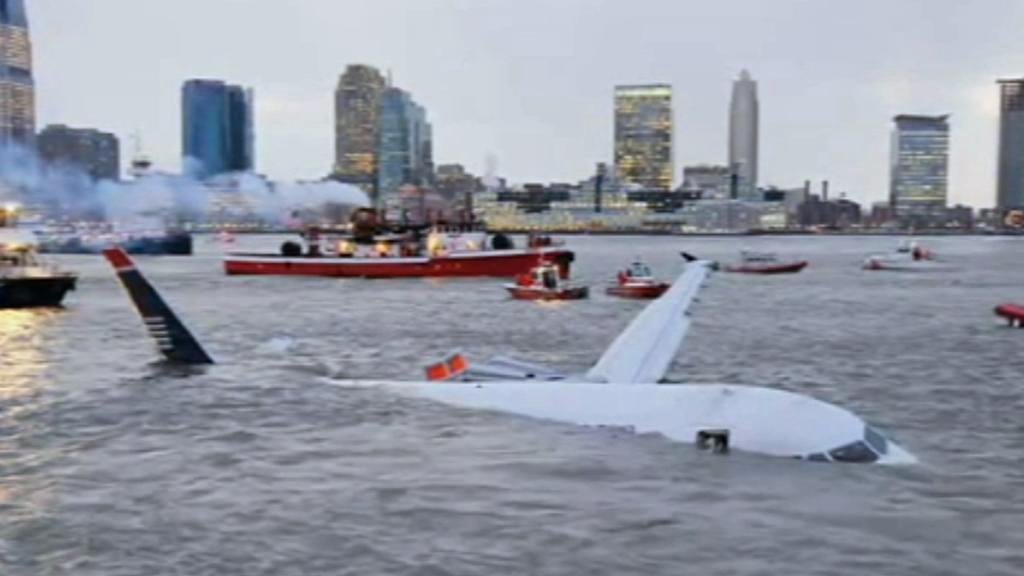 Nouzové přistání letadla na Hudsonu v lednu 2009
