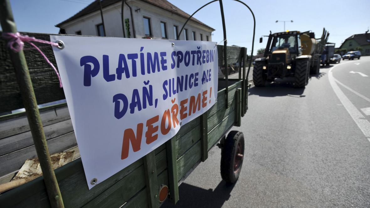 Protest zemědělců