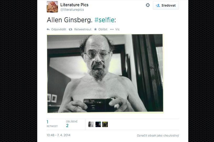 Selfie Allena Ginsberga