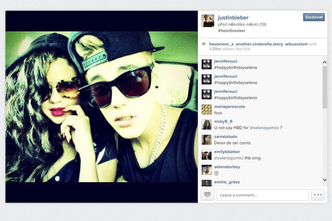 Selfie Justina Biebera