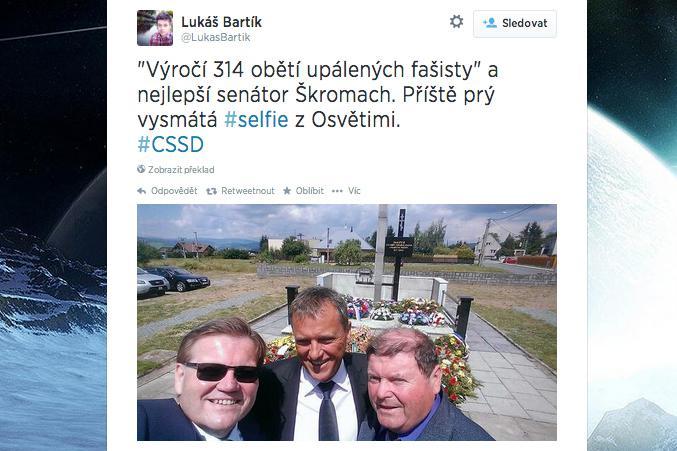 Selfie Zdeňka Škromacha