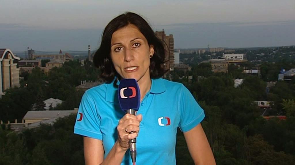 Adriana Dergam na Ukrajině