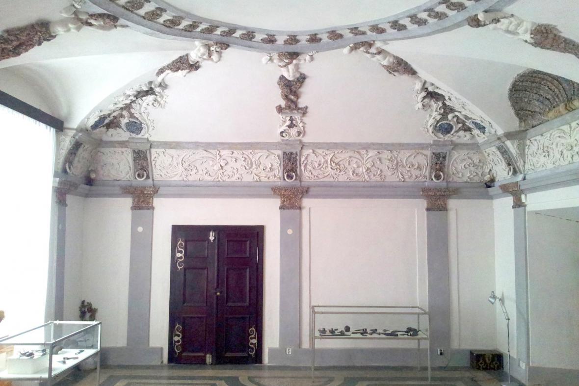 Sala terrena zámku Choltice