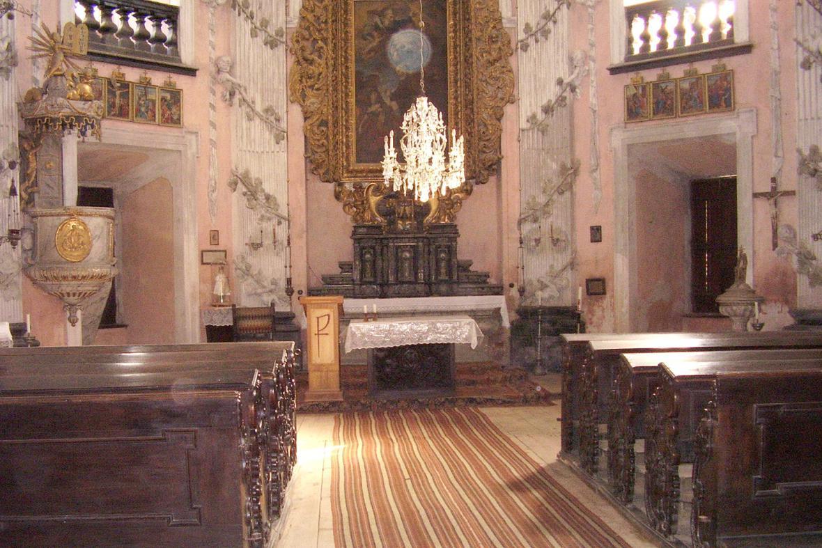 Kaple sv. Romedia na zámku Choltice