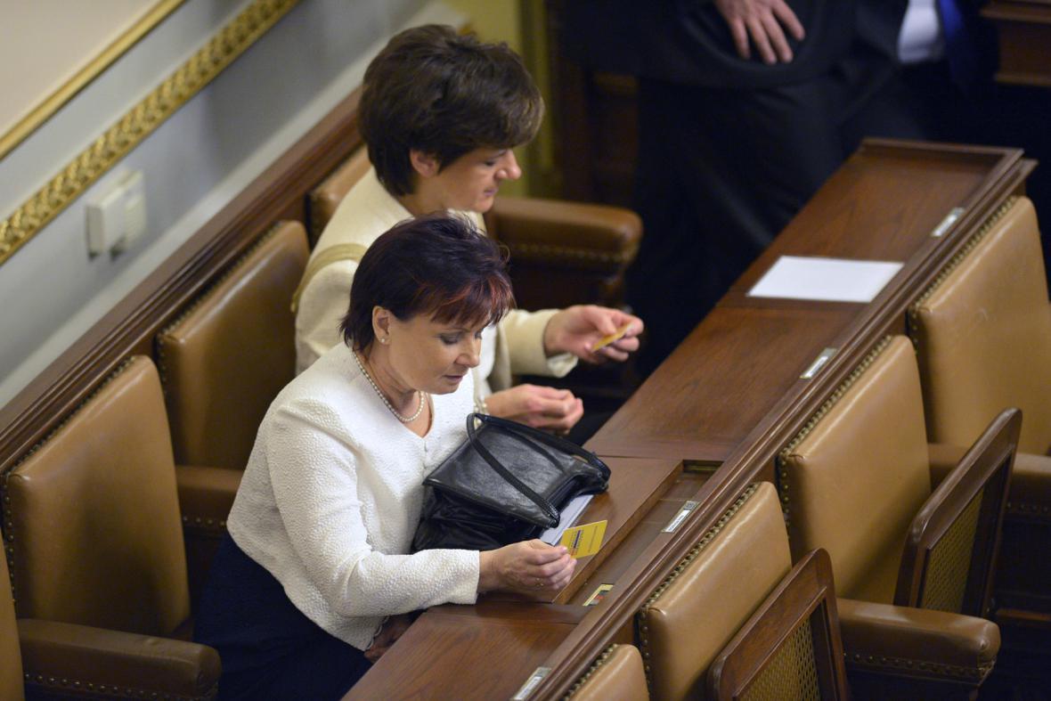 První schůze nové Poslanecké sněmovny