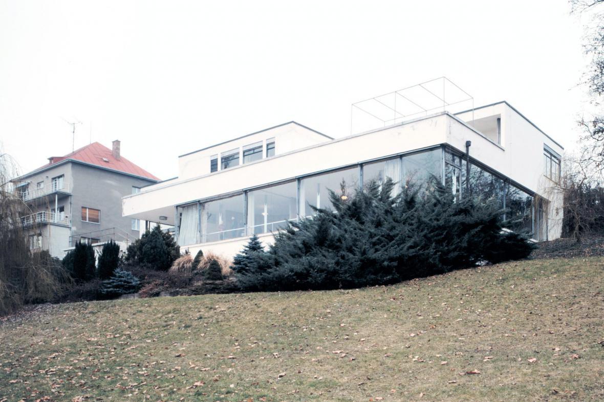 Vila Tugendhat před rekonstrukcí (2002)