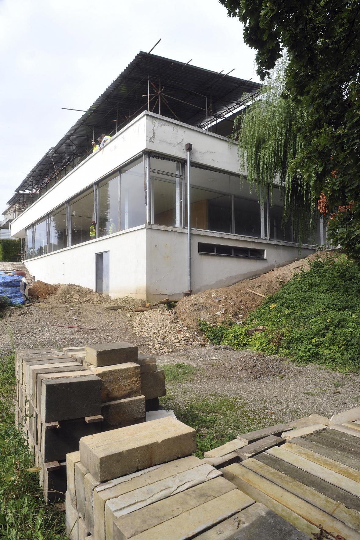 Rekonstrukce vily Tugendhat (2010)