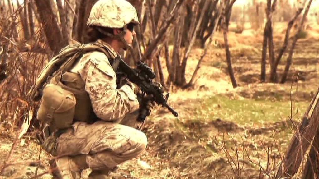 Americká vojačka