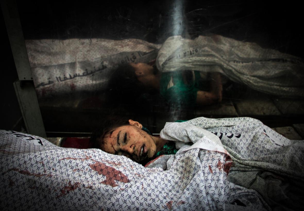 Izraelská ofenziva v pásmu Gazy