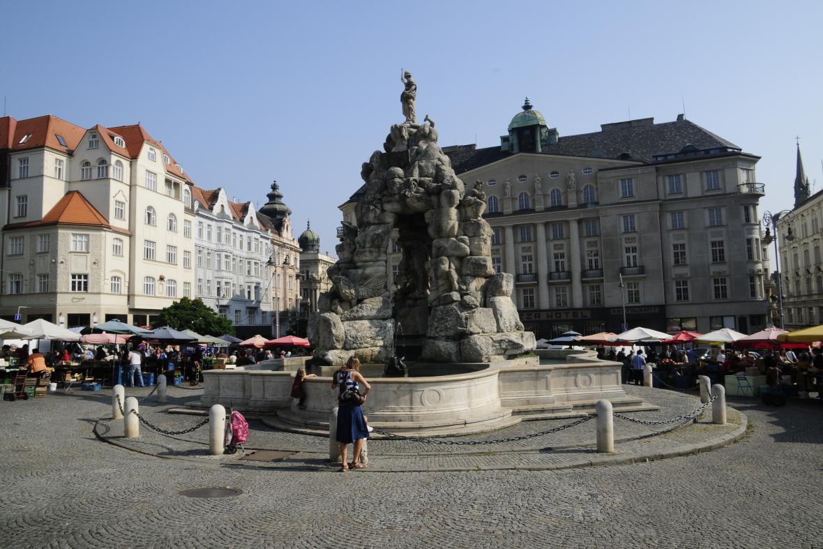 Zelný trh v Brně