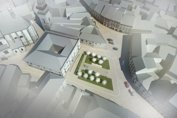 Nová podoba Divišova náměstí ve Znojmě
