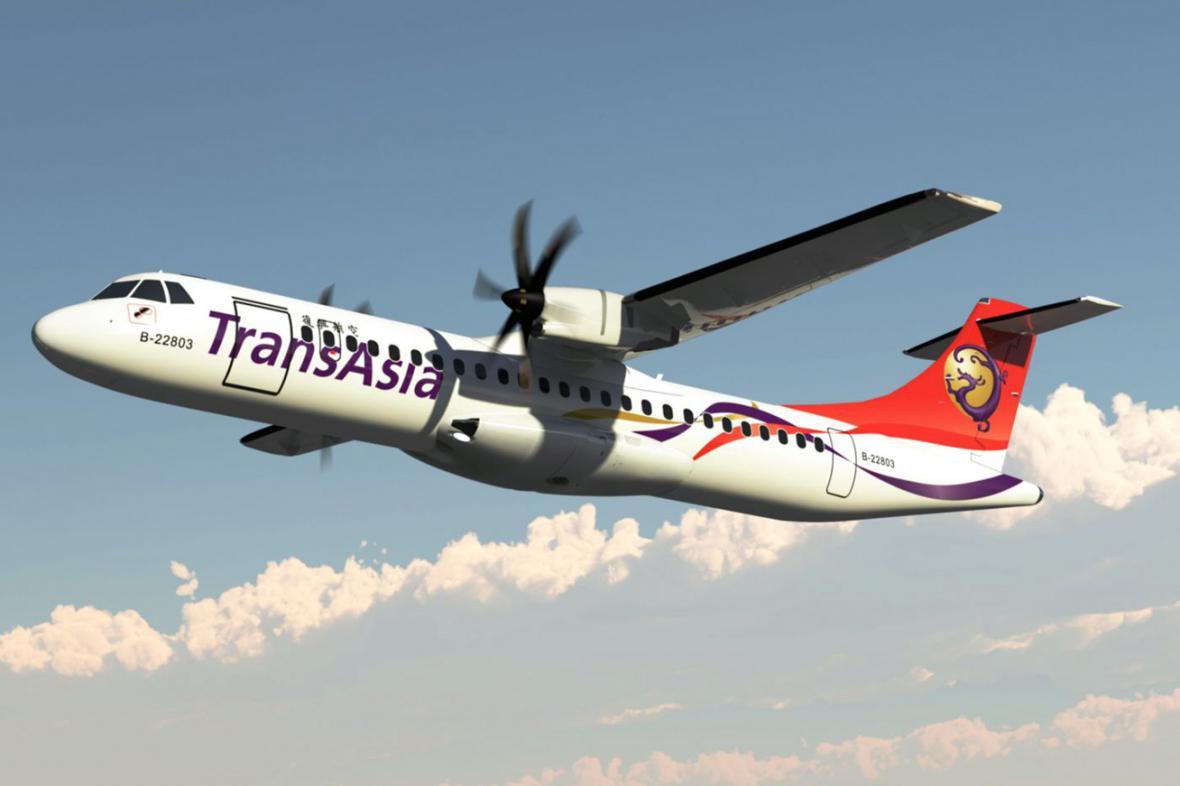 Letadlo společnosti TransAsia Airways