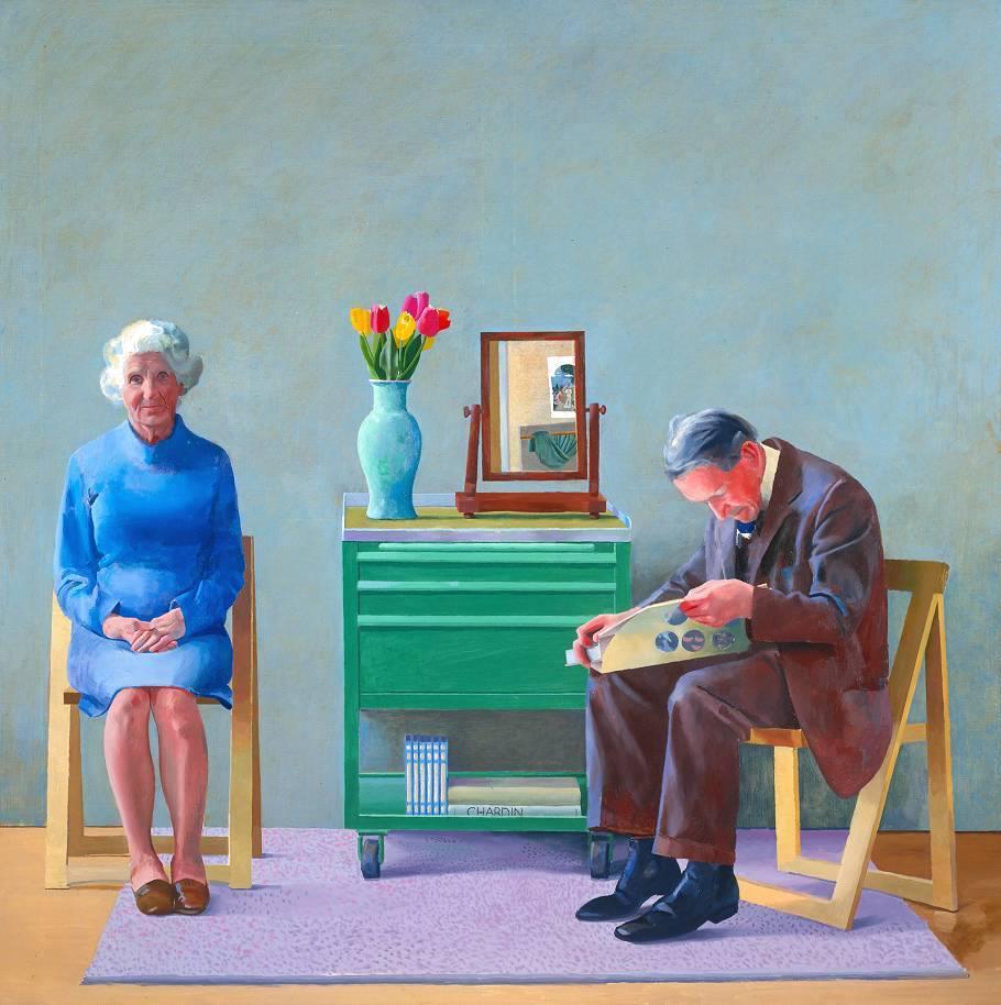 David Hockney (1977)