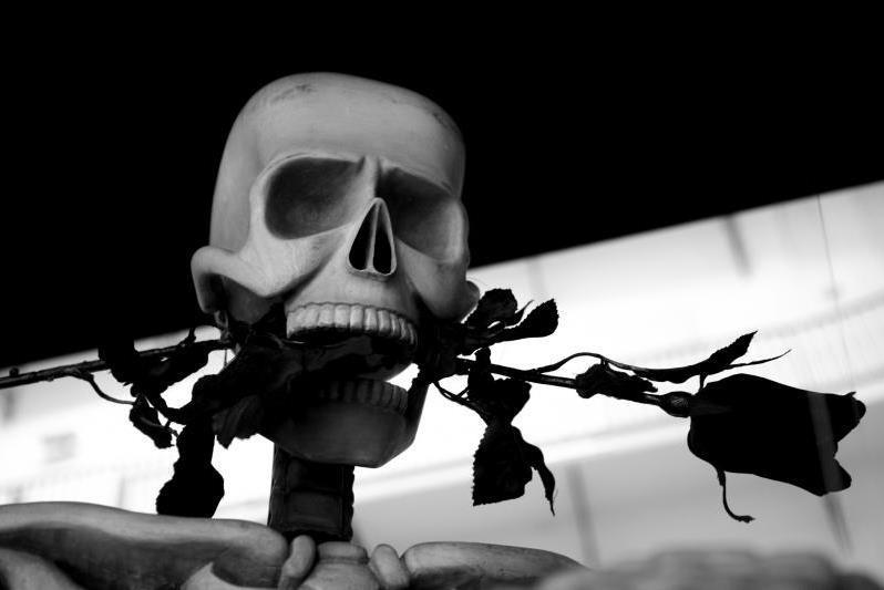 Z výstavy Smrt kmotřička
