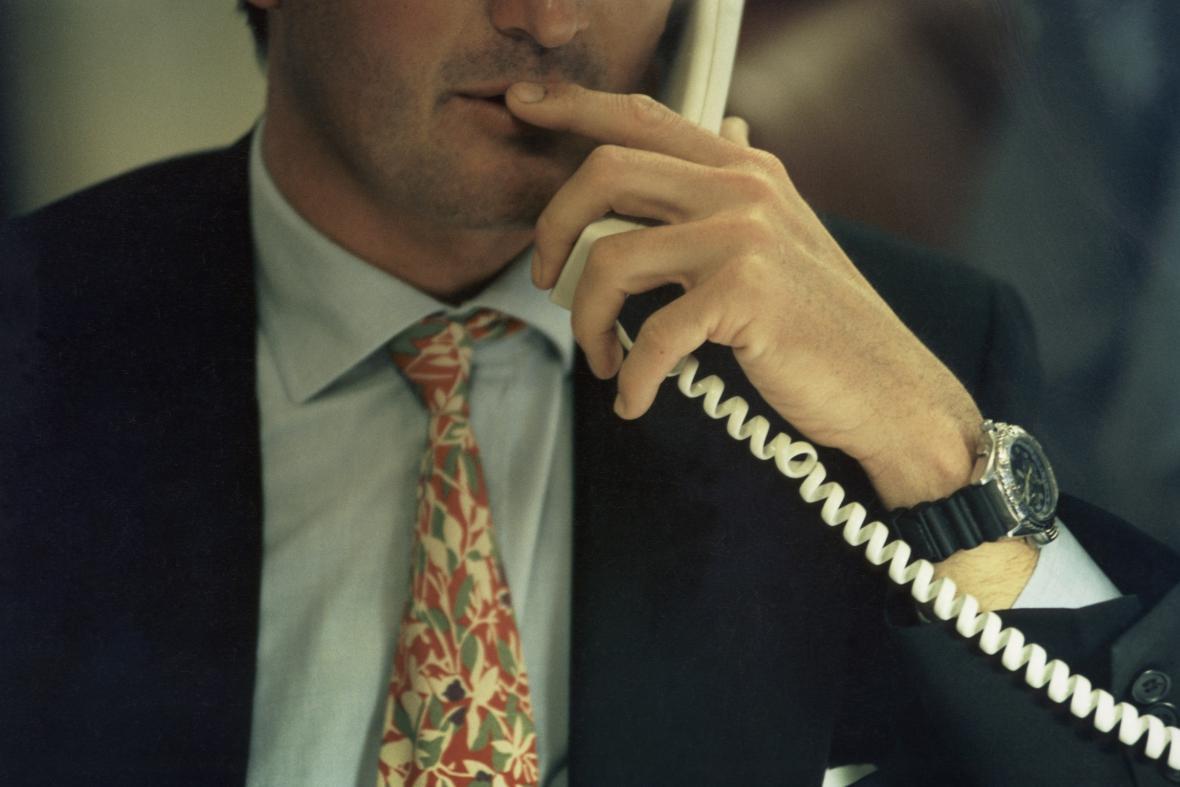 Anonymní telefonát