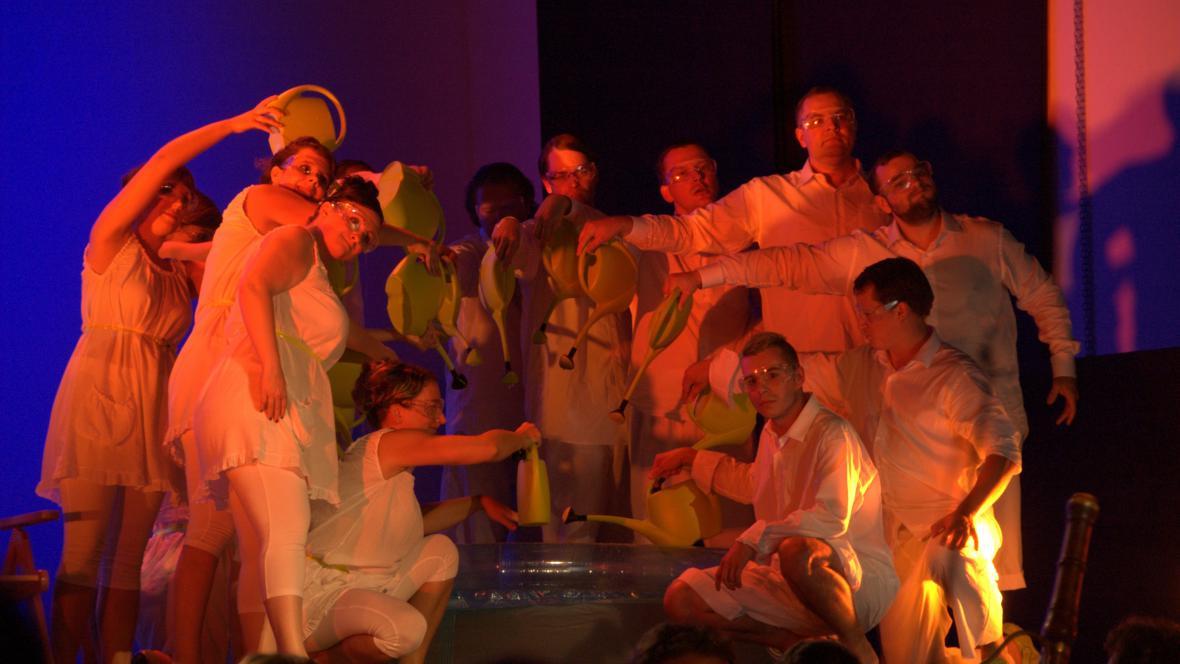 Zkouška opery Platée