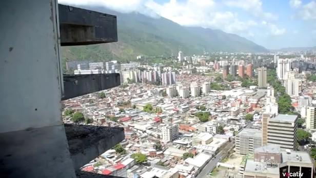 Davidova věž v Caracasu