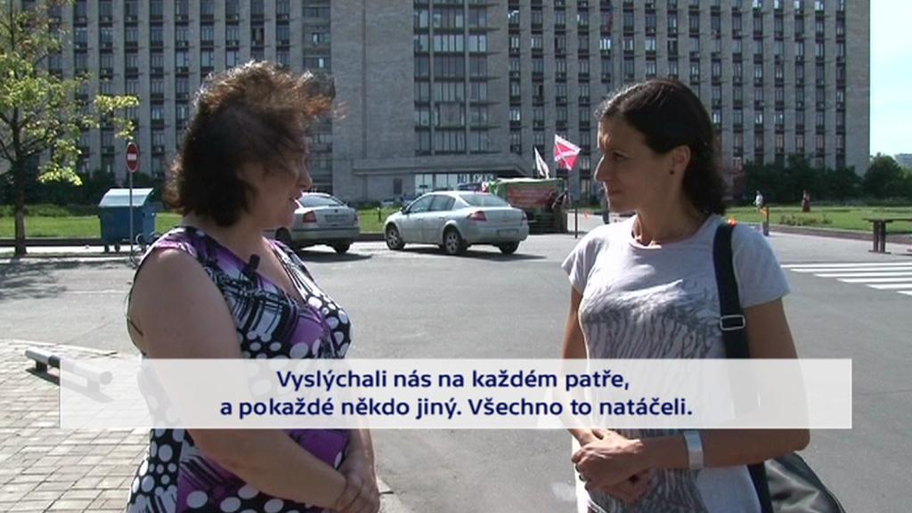 Novinářka Olena Mokrenčuková promluvila o svém zadržení separatisty
