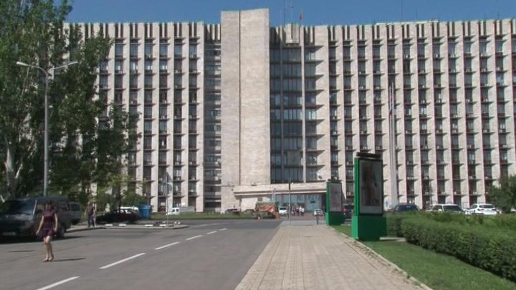 Doněcké sídlo separatistů