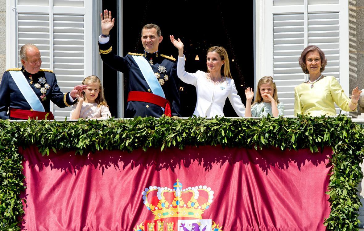 Filip VI. při své korunovaci
