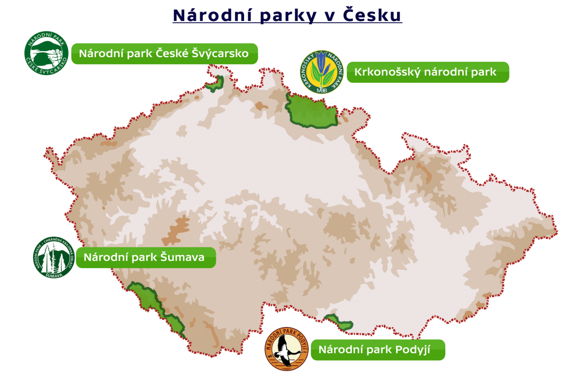 Národní parky v Česku