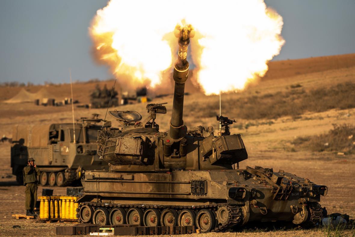 Izraelské tanky pokračují v operaci v Pásmu Gazy