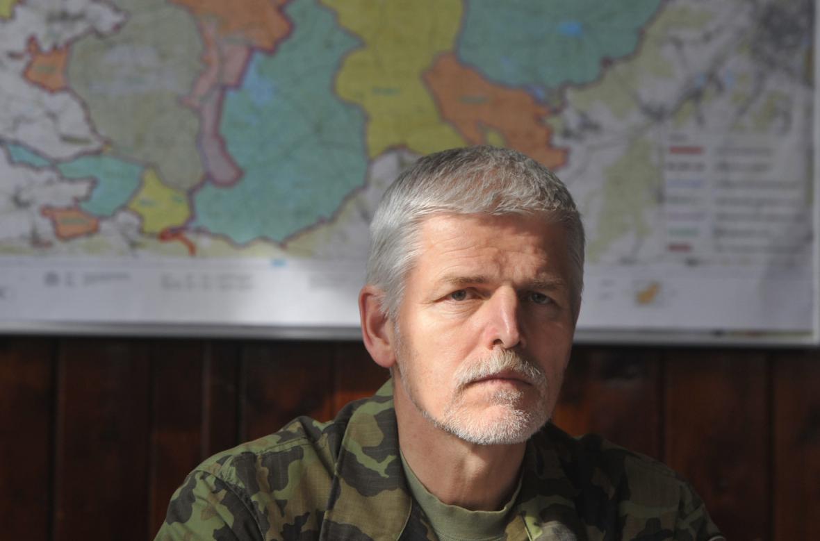Náčelník GŠ AČR Petr Pavel