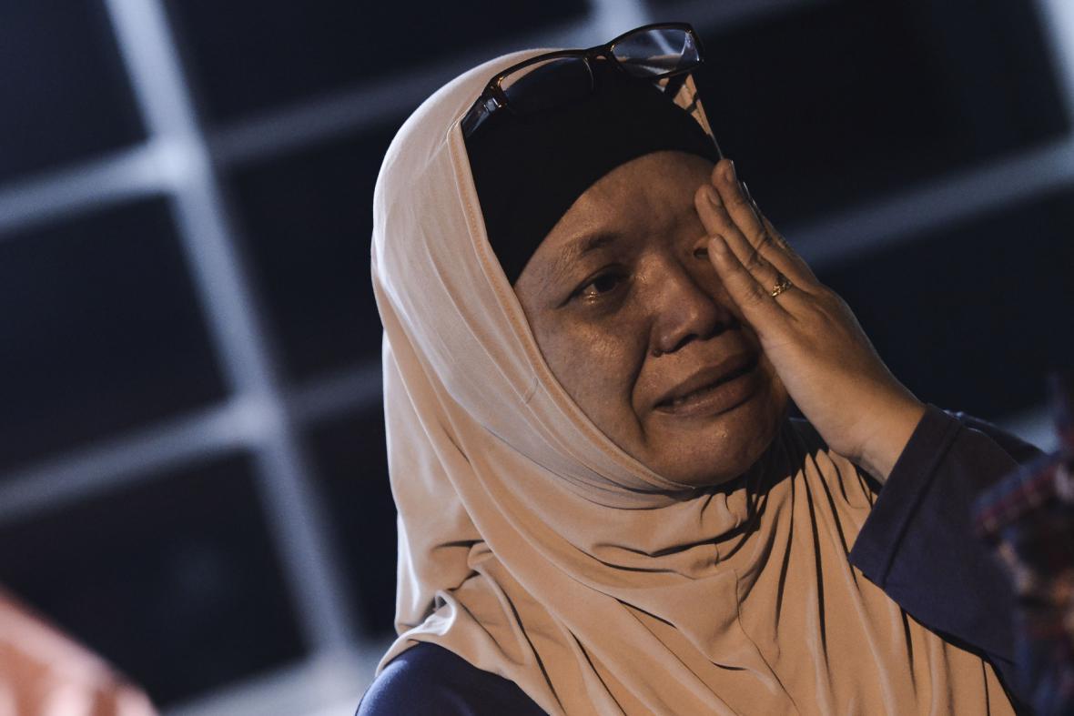 Pozůstalí obětí ze ztroskotaného letadla MH17