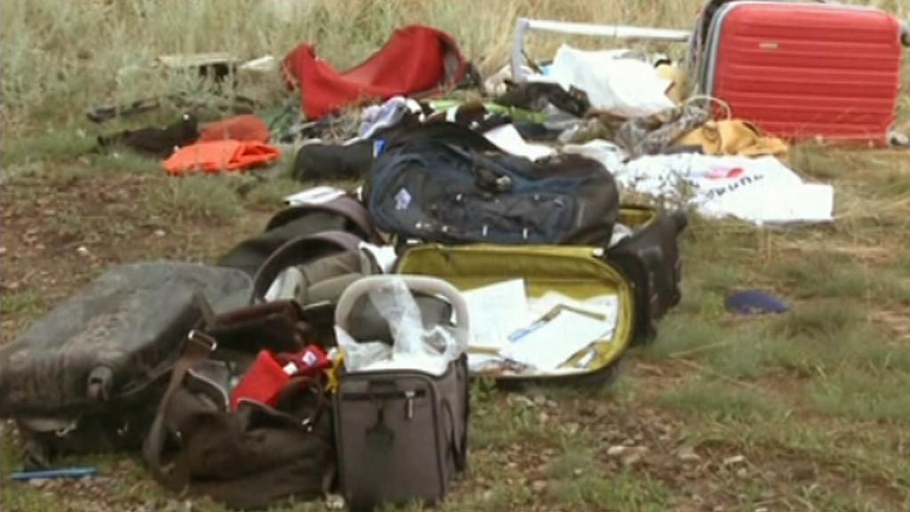 Osobní věci pasažérů letu MH17
